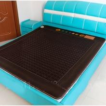 2016 frees shiiping good Natural Tourmaline jade stone mattress Mat Beauty Mattr