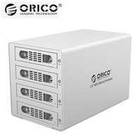 ORICO 3549RUS3 инструментов Алюминий 4 Bay 3,5 SATA2.0 USB3.0 & eSATA HDD Внешний док станции RAID Функция 4*8 ТБ HDD случае