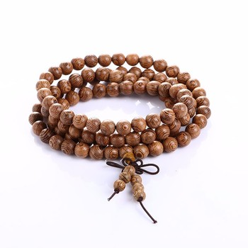 Bracelet Bouddhiste En Bois De Santal