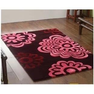 tapis de couleur noir et rouge gris et blanc gris et beige tapis de table basse de salon de chambre a coucher