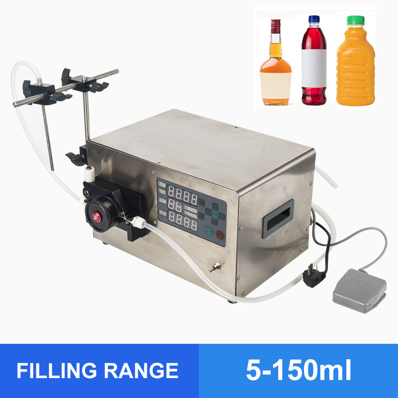 OLOEY Precise Peristaltic Pump Filling Machine Water Filling Machine (For Small Volume)