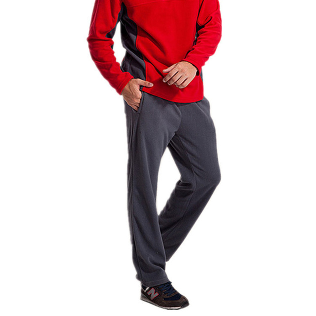 Высокое Качество Прочный Анти-Пилинг Руно Брюки Мужчины Ветровка На Открытом Воздухе Теплый Софтшелл Мужчина Брюки Серый Pantalones