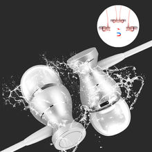 In-Ear Wired Earphone waterproof Magnetic Stereo Music Sound Headphone Mic Earphones Headset For iPhone Android Mobile Earpieces(China)