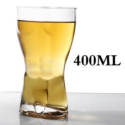 Бар личность сексуальная обнаженная Обнаженная мужчины вино Пшеница пивное стекло дух человеческого тела вкус Кубок красота герой туба вина чашка короткое стекло es - Цвет: 500ml man