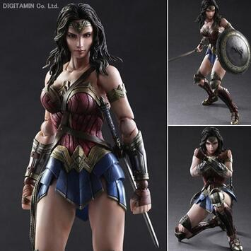 Batman V Superman Wonder Woman Play Arts Kai figure 1/6 scale painted variant Doll Anime PVC Action Figure Collectible Model Toy anime cardcaptor sakura figma kinomoto sakura pvc action figure collectible model toy doll 27cm no box