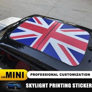 Image 3 - 23 wzór flaga Union Jack/niedźwiedź szyberdach Skylight naklejka ze wzorem dla MINI COOPER F55 F56 F57 F60 R55 R56 R57 R58 R59 R60 R61 naklejki