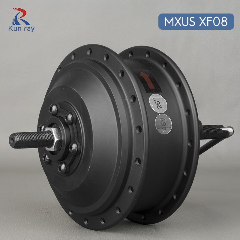 Hub Motor scooter MXUS XF08 250W Brushless Gear Motor DC 24V 36V 48V electric bicycle rear wheel motor for 16-28 e bike 3 9kg 40kph 48v 500w brushless gear hub motor for rear ebike electric bike or electric bicycle