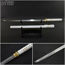 Blancas katanas samurai sword katana 1095 aço carbono handmade espada japon s afiada