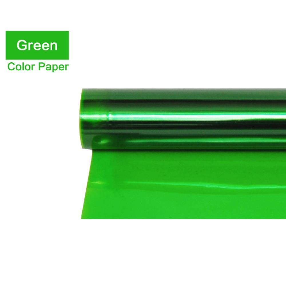Meking Professional 40*50cm Color Gel Filter Paper for Studio Flash Redhead Spotlight