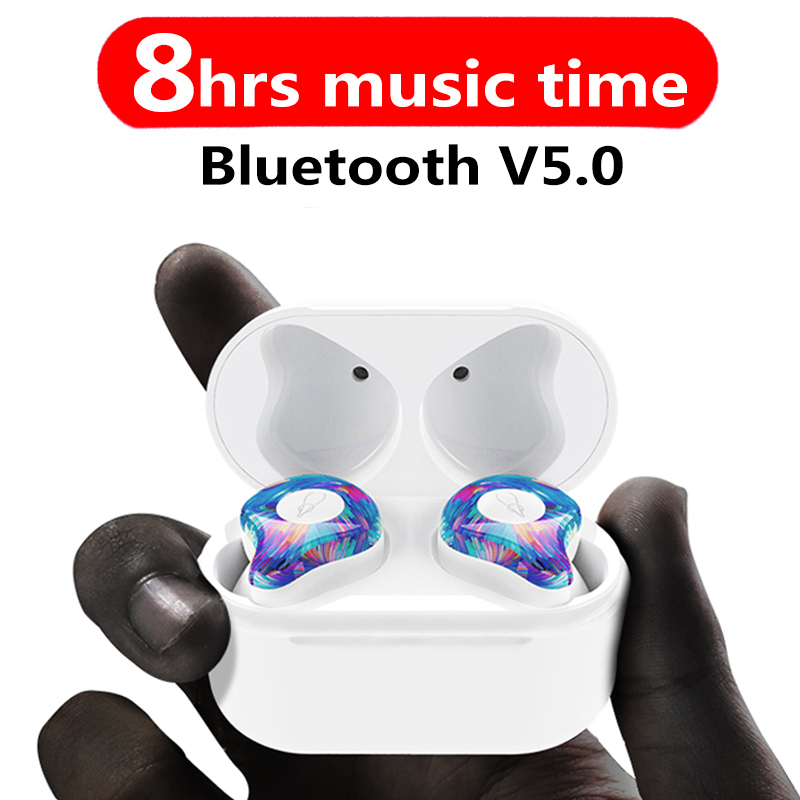 New Mini BLuetooth Earphone Port Cordless Wireless Earbuds Stereo in ear Bluetooth 5.0 Headset Wireless ear buds Earphone sabbat mini tws v5 0 bluetooth earphone sport waterproof true wireless earbuds stereo in ear bluetooth wireless ear buds headset