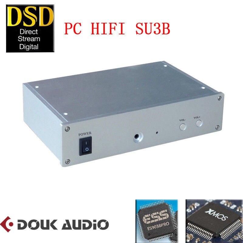 HiFi DSD XMOS ES9038PRO Asynchronous USB Decoder DAC Desktop Amplifier For PC With Headphone Jack fiio q1 mark ii hi res audio native dac dsd headphone amplifier xmos 384 khz 32 bit for iphone ipad pc ak4452 q1ii