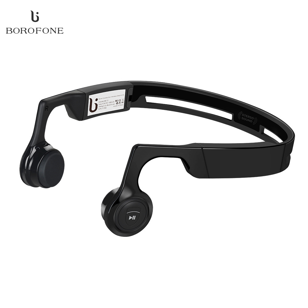 Borofone BE12 Wireless Bluetooth Stereo Headset V4.1 Neckband Earphone Bone Conduction Earphone Handsfree Sports Headset