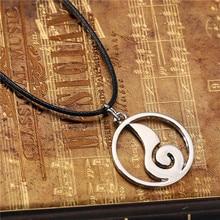 Naruto Uzumaki Silver Plated Pendant