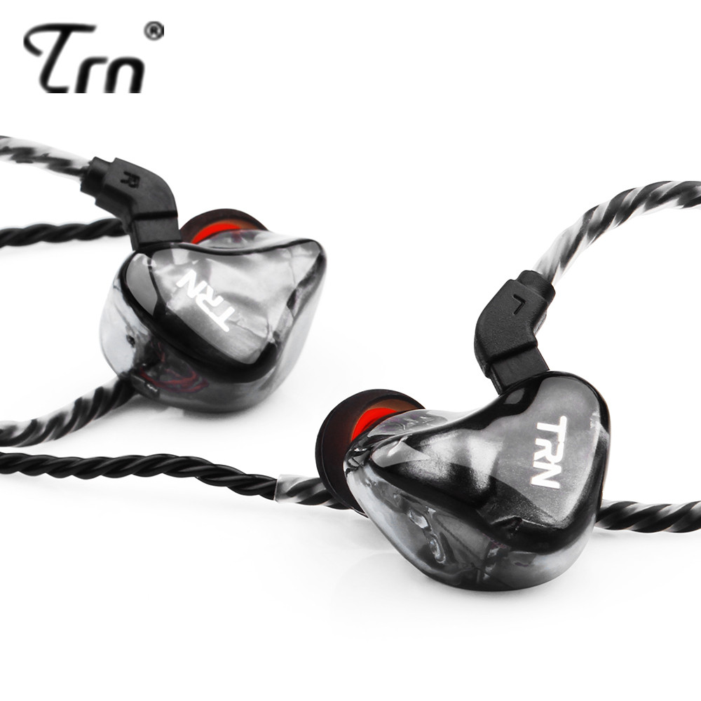 TRN X6 Balanced Armature Headset 6 BA HIFI In Ear Earphone Fever cable Control Subwoofer Headset Detachable 2Pin cable V30 V80