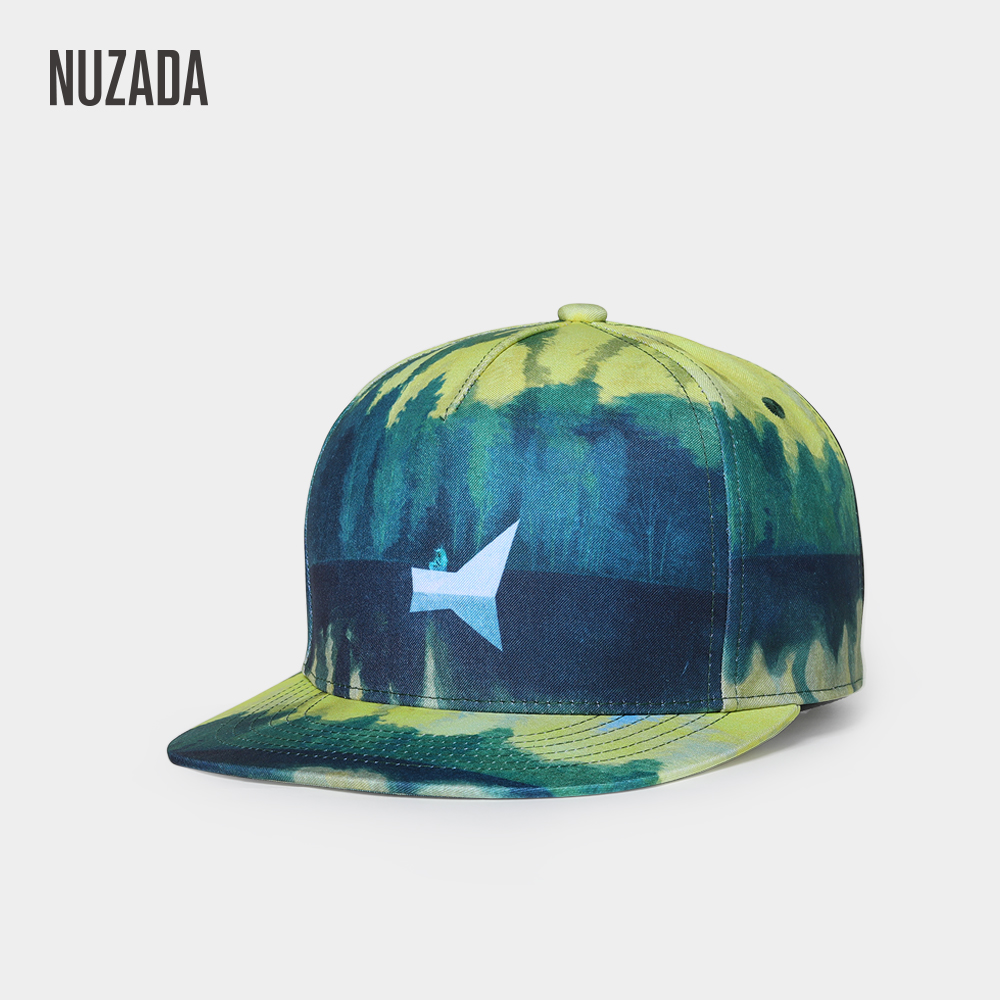 NUZADA Designer Design Men Women Couple   Baseball     Cap   3D Thermal Transfer Printing Hats Cotton Bone Snapback   Caps