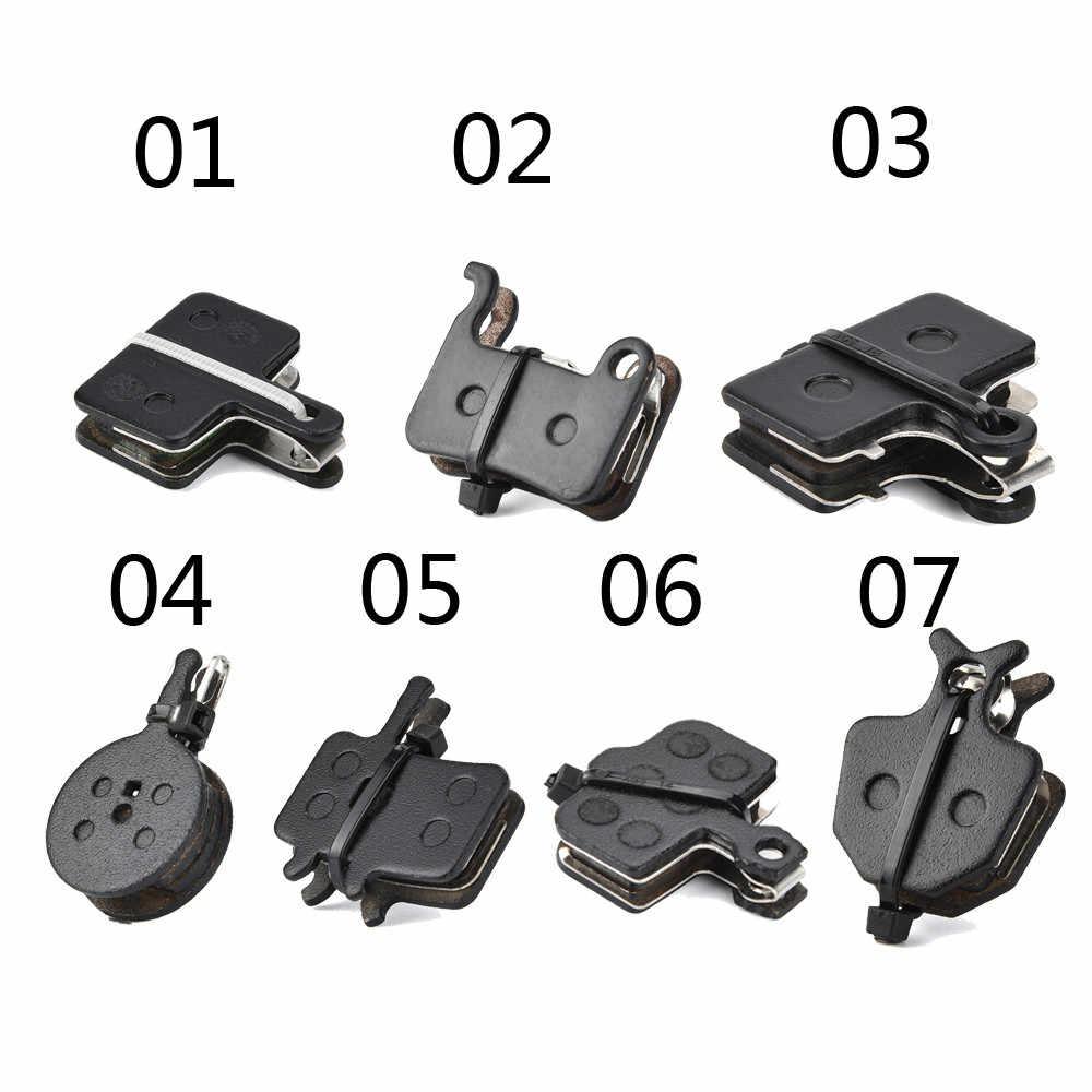 1Pair MTB Bike Bicycle Disc Brake Pads Semimetal Brake Shoes Blocks Accessories