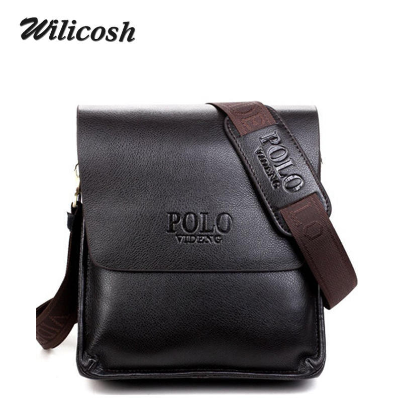 58fc700c04a8 NEW Arrived PU Leather Men s Shoulder Bags TOP Quality Casual Men Messenger  Bags Briefcase Brand Men s Travel Bag Bolsas RM008-in Crossbody Bags from  ...
