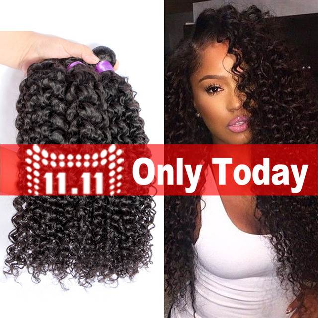 8a Grade Monoglian Afro Kinky Curly Virgin Hair 4 Bundles Bohemian