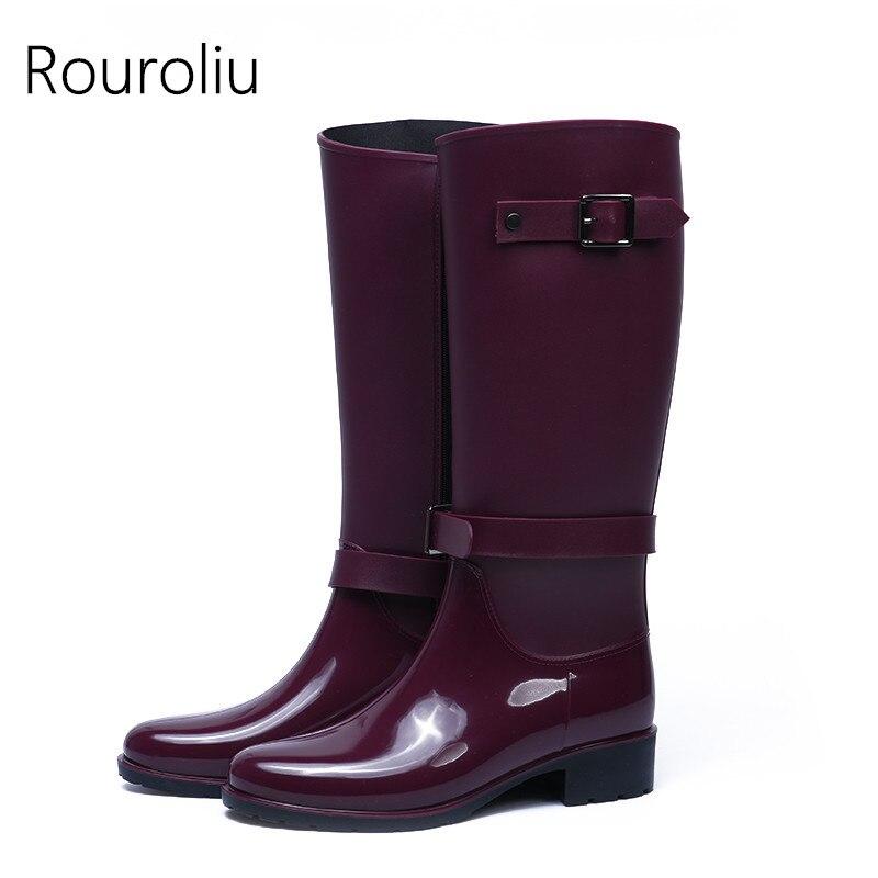 Popular Zipper Rain Boots-Buy Cheap Zipper Rain Boots lots from ...