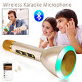 Free shipping!K188 KTV Wireless Karaoke Microphone Bluetooth Portable Handheld For ios and Android