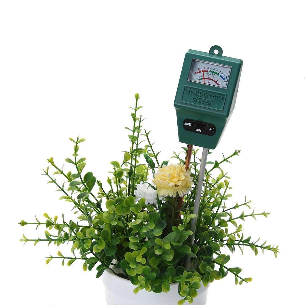 Garden Soil PH Meter Moisture Tester Gardening Farming Plants Crops Flowers Plant Acidity Measure Moisture PH Tester Analyzer