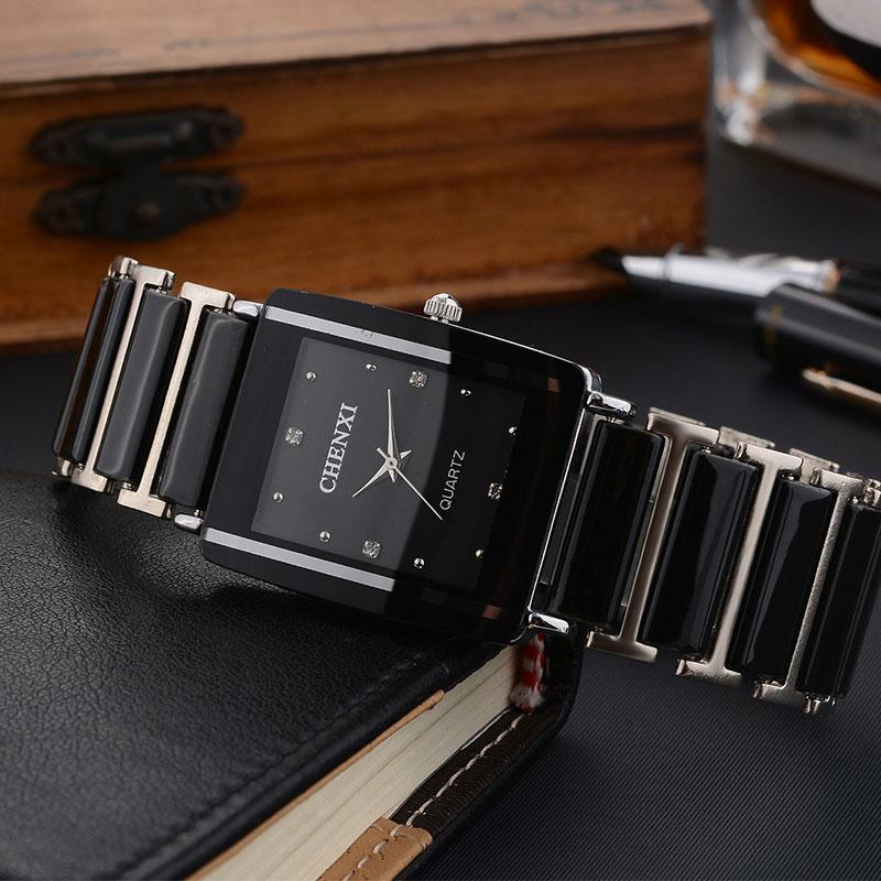 CHENXI Simulovaná keramika 2018 Quartz hodinky Muži Hodinky Top - Pánské hodinky