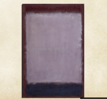 Mark Rothko Still life Classical purple oil Painting Drawing art 100%handmade Unframed Canvas picture hologram ship by dhl