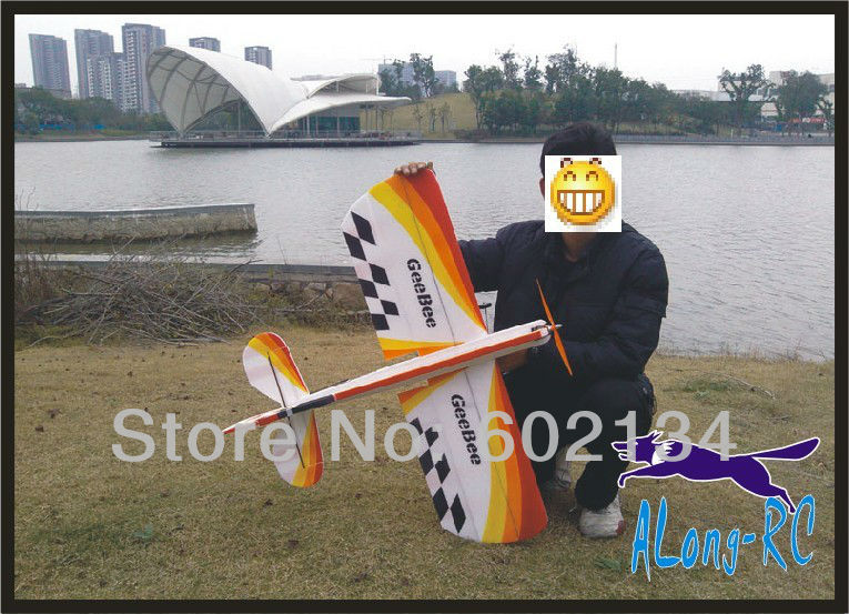 EPP PLANE/ RC 3D airplane/RC MODEL HOBBY TOYS/-wingspan 1000mm GeeBee 3D plane(kit) цена