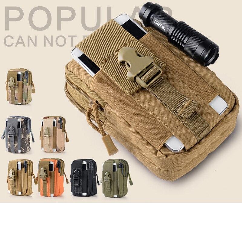 Military Waist Pack Pouch Belt Mobile Phone Waist Bags Pocket Case Soft Cover For Nokia Asha 300 200 Nokia C7 C3 Nokia E90 E72
