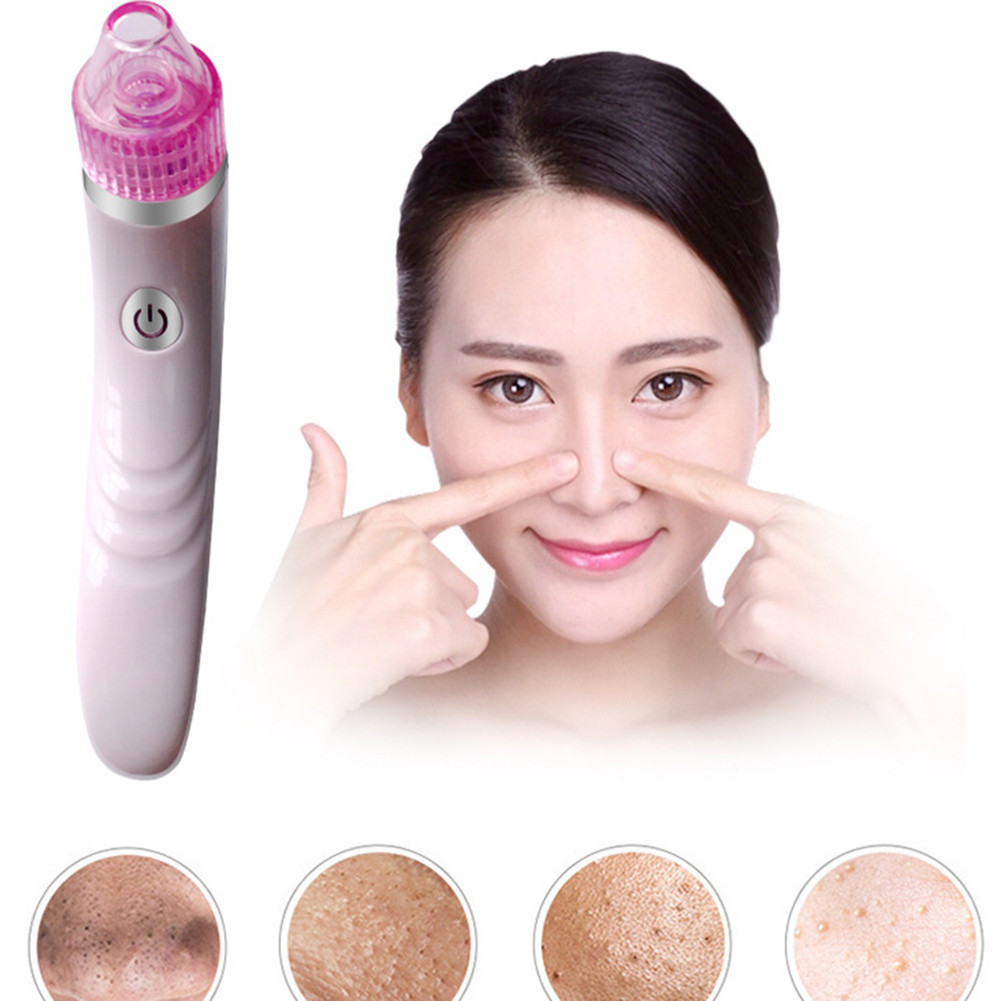 Electronic Facial Pore Cleaner Nose Blackhead Cleansing Acne Remover Vacuum Comedo Suction Tool Skin Care Massage Beauty Machine electric face cleanser facial vacuum pore cleaner nose acne comedo suction blackhead remover skin care cleaning beauty machine