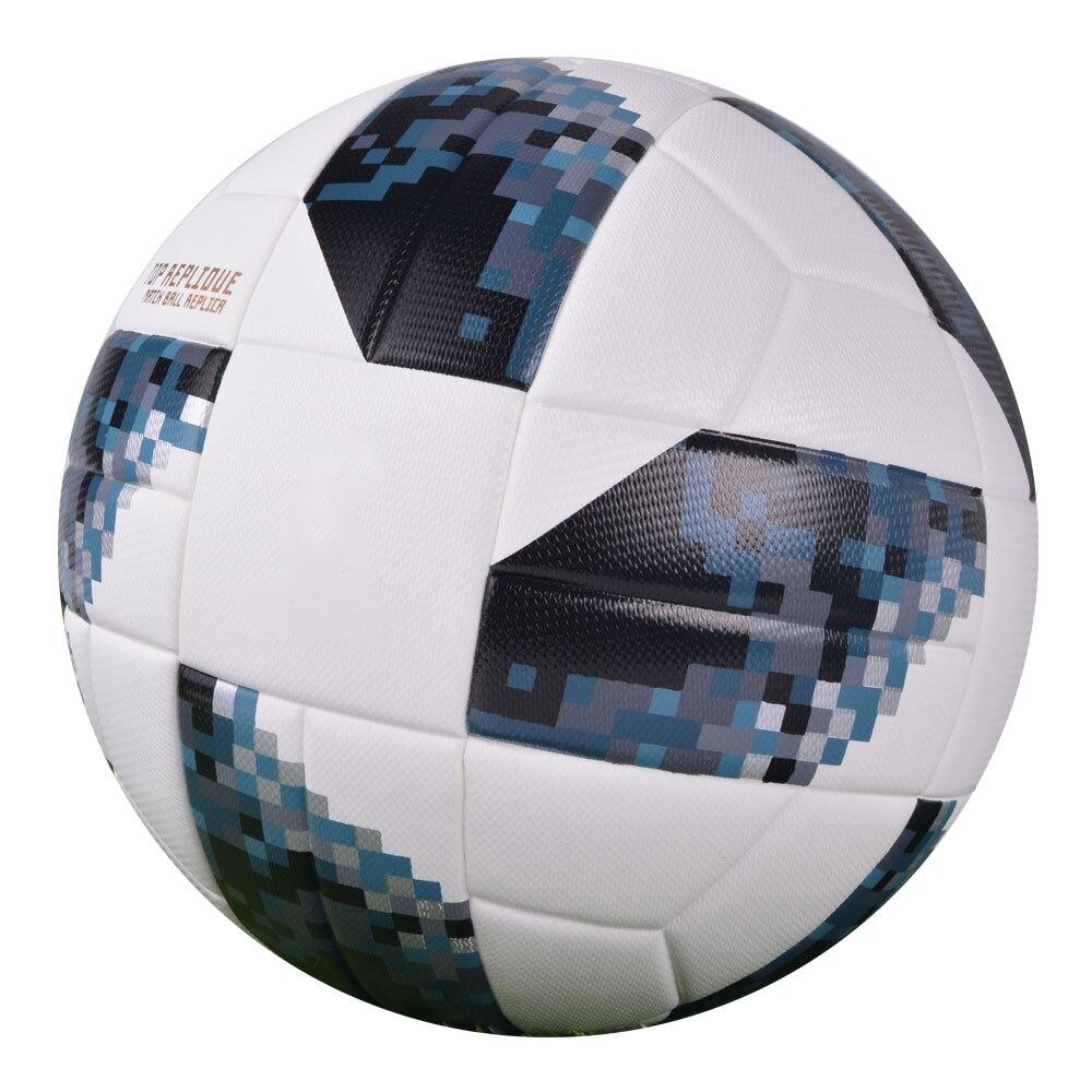 2018 Premier pelota de fútbol de tamaño oficial 4 tamaño 5 de la liga de fútbol al aire libre PU objetivo encuentro bolas de entrenamiento regalo personalizado futbol topu