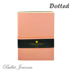 Bullet Journal Notebook A5 Dot Grid Smyth Dotted Writing Notepad Travel Undated Diary