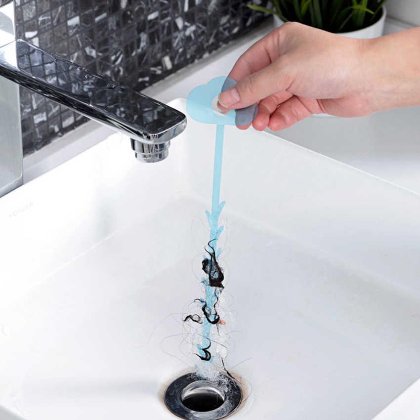 5 ピース/セット浴室床毛クリーナー下水フィルター排水クリーナーキッチンシンク Drian フィルターストレーナー浴槽洗浄フックツール