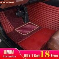 Custom car floor mats bmw g30 bmw e90 f10 f01 f25 f30 f45 x1 x3 f25 x5 f15 e30 e34 e60 e65 e70 e83 320i Auto mats waterproof