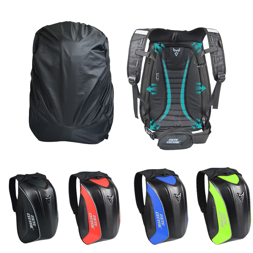 Waterproof Moto Tank Bag Motocross Riding Racing Storage Bag Carbon Fiber Motorbike Helmet Backpack Black Men's Motorcycle Bag cucyma motorcycle bag waterproof motorcycle backpack carbon fiber motocross racing riding helmet bag motorbike knight backpack