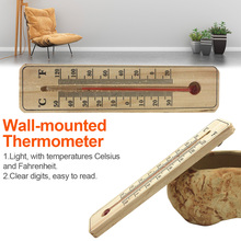 Indoor Outdoor Plastic Thermometer Wall Hung Hang Thermomete