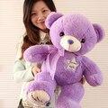 35 см 1 шт. плюшевый мишка игрушки лаванды фиолетовый медведь куклы чучела плюшевые игрушки подарки на день рождения для девочек детей бесплатная доставка NT056E