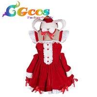 Cgcos ücretsiz kargo cosplay kostüm süper sonic elbise yeni stok perakende/toptan cadılar bayramı partisi