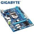 Материнская плата GIGABYTE для настольных ПК с процессором H61  сокетом LGA 1155  i3  i5  i7  DDR3 16 ГБ  uATX  UEFI BIOS  оригинальная  б/у  GA-H61M-DS2