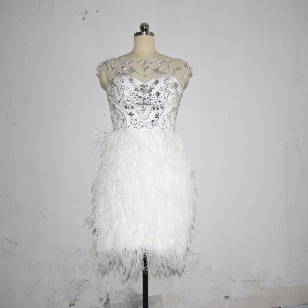 Berühmt Elfenbein Perlen Cocktailkleid Galerie - Hochzeit Kleid ...