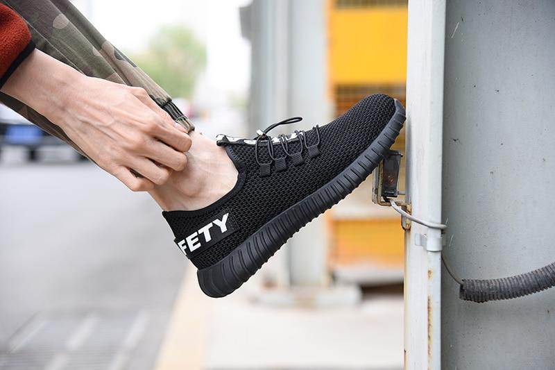 حذاء كبير أمان تنفس 14