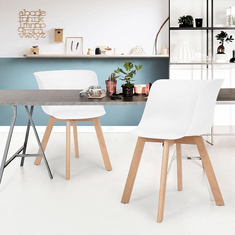 EGGREE набор из 4 обеденные стулья гостиная стул кофе стулья кресла - росы