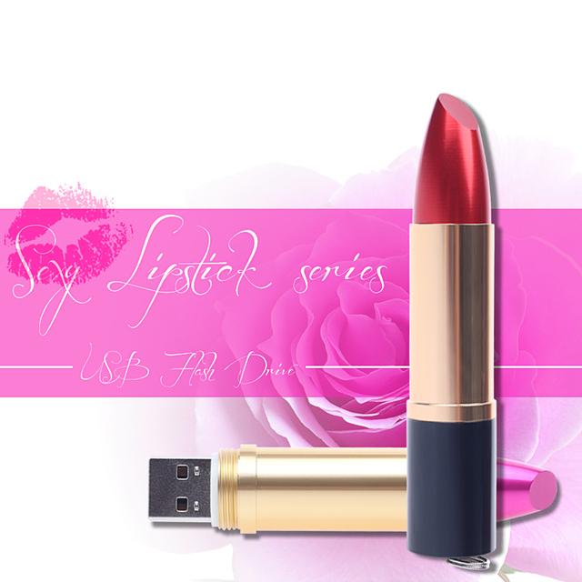 Lipstick Pendrive USB Stick flash drive USB 2.0