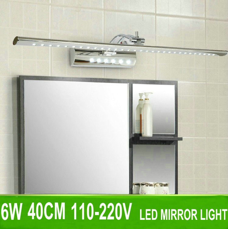 Modern minimalist 5w 40cm led mirror lights mural light for Mural lighting