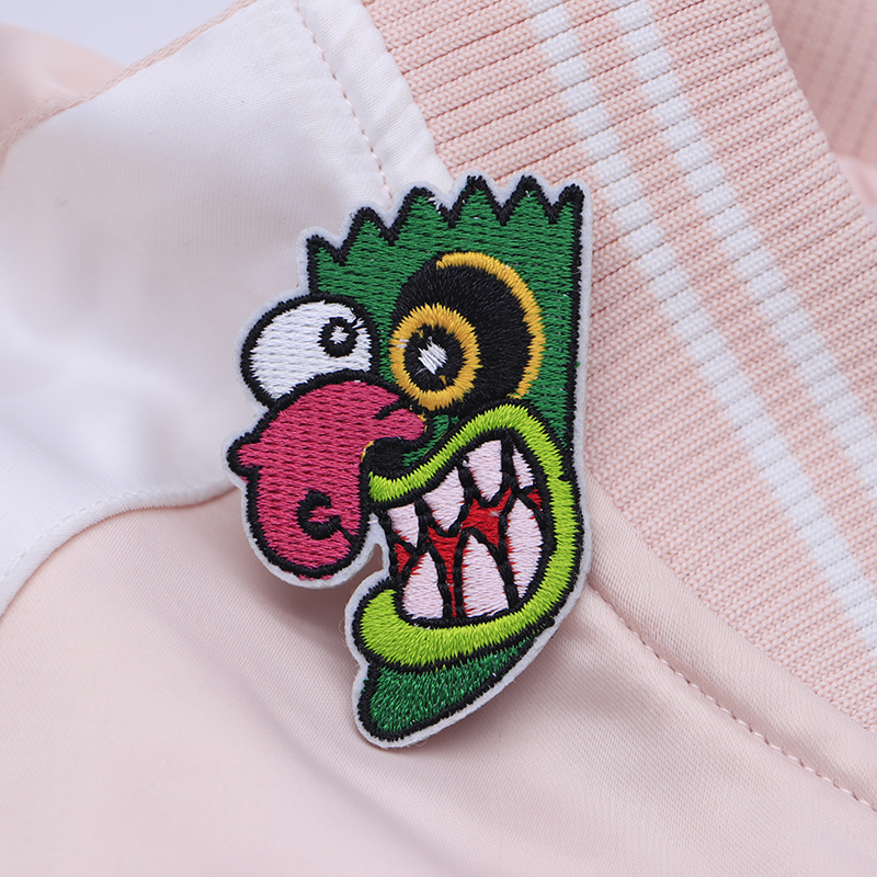 2pcs/lot Ooga Booga Courage the Cowardly Dog Embroidery