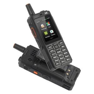 Image 3 - UNIWA Alpi F40 Del Telefono Mobile Zello Walkie Talkie IP65 Impermeabile FDD LTE 4G GPS Smartphone MTK6737M Quad Core 1GB + 8GB Cellulare