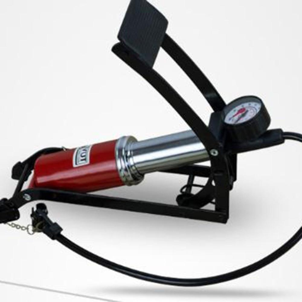 Pompe de gonflage de vélo Type de pédale pompe à Air haute pression Mini gonfleur Portable Machine pour vélo moto vélo outil