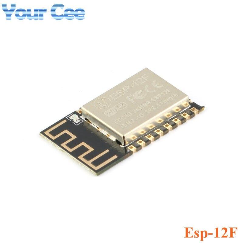 1 Uds. ESP-12F (actualización de ESP-12E) ESP8266 puerto Serial remoto WIFI módulo inalámbrico ESP8266 4M Flash ESP 8266 IOT
