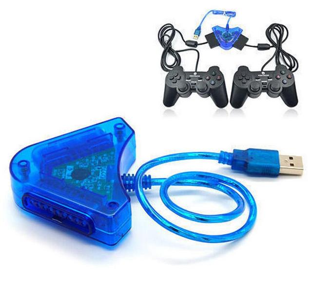 Ps2 To Usb Adaptor Allows A Playstation 2 Controller To Be Used Via
