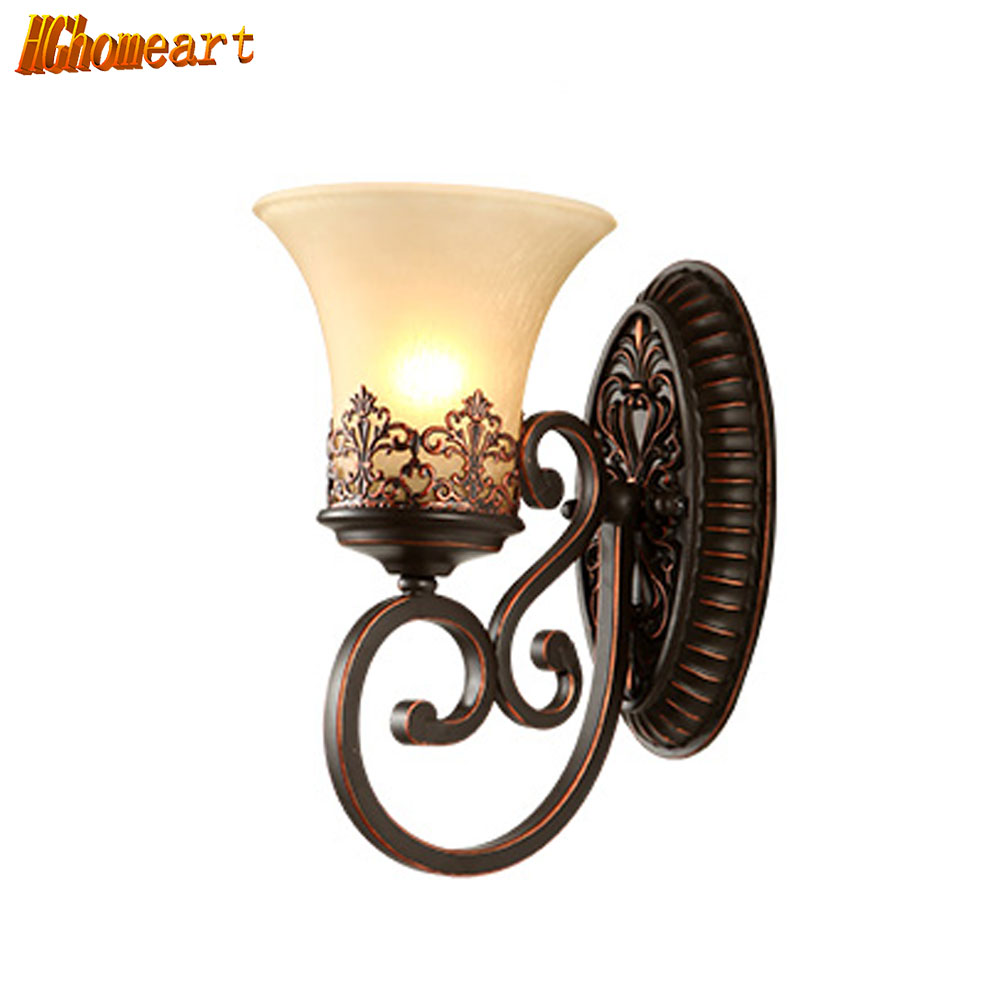 wall lamp retro led lights walnut retro bedside lamps readin